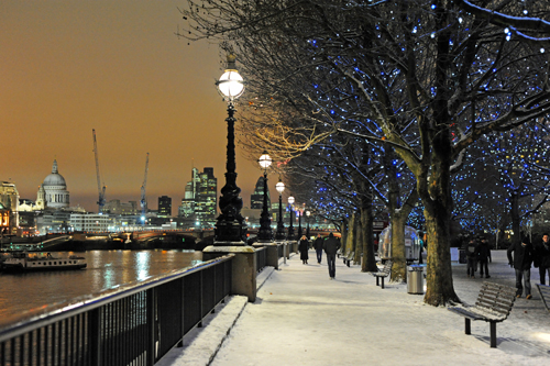 Thames at Christmas